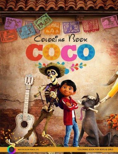 Libro Coco Coloring Book: Disney Pixar Coco Coloring Pages ...