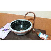 Cuba Pia Importada Luxo Banheiro Lavabo Pedra Natural 10 Lts