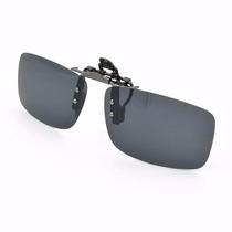 Sobre Lente De Sol Medida Clip Proteccion Uv 400 Delivery!