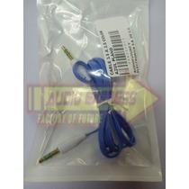 Cable 3.5 A 3.5 Color Azul Plano Dxr080019