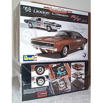 Dodge Charger R/t Kit 1/25 P Montar 2 Em 1 - Plastimodelismo