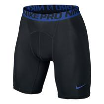 Bermuda Short De Compressão Cool 6 Nike Pol Preto/azul