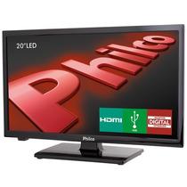 Tv Led 20 Philco Hd C/ Receptor Ph20u21d + Suporte Universal