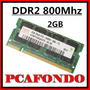 Memorias Sodimm Hynix Ddr2 2gb 800mhz Pc2-6400 Notebook