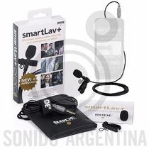 Rode Smartlav+ Plus Microfono Corbatero Smart Iphone Tablet