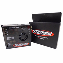 Módulo Amplificador Soundigital 250rms Sd250 2d Nano Digital