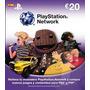 Psn Card 20 Euros, Play Station Network España