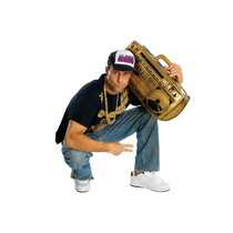 Disfraz De Hip Hop - Radio Inflable