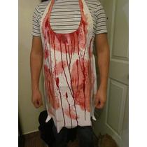 Halloween Mandil Carnicero Butcher Masacre
