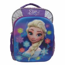 Mochila Primaria Escolar Niña Frozen Ana Elsa Disney 110258