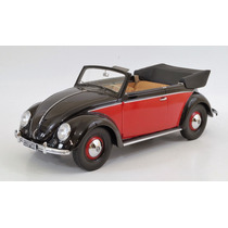 Vw Sedán/beetle/käfer Descapotable1949 Esc 1:18 Minichamps