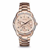 Reloj Bulova Diamond 98r178 Ghiberti