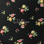Flores Negro-Amarillo (Polilycra)