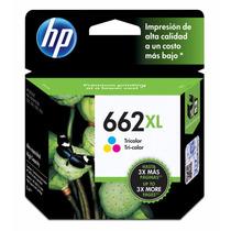 Cartucho 662xl Color Hp Original Novo E Lacrado P Impressora