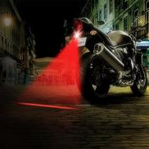 Luz Láser Anti-colisión Seguridad Para Motos Y Autos