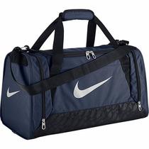 Bolsa Brasilia 6 Small Duffel - Azul Marinho E Preta Nike