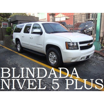 Suburban 2011 Blindada Nivel 5 Plus Paquete G 4x4 Remato!