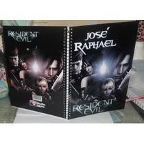 Caderno Resident Evil 15 Materias