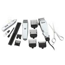 Kit Home Grooming Wahl: Máquina De Cortar Cabelo 110v