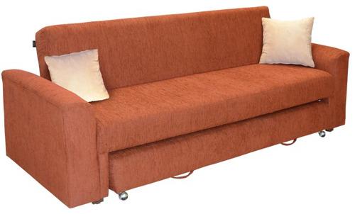 Sof cama tymi doble individual lino 9 en for Sofa cama individual plegable mexico
