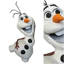 Piñata Artesanal Frozen Olav Licencia Disney Con Dulces