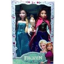 Bonecas Do Filme Frozen Disney Musical Elsa E Anna