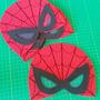 Kit 40 Máscaras Homem Aranha Aniversário Lembrancinha