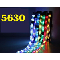 Tira Rollo Led 5050 Con Recubrimiento 5 Mts 300 Leds Foco