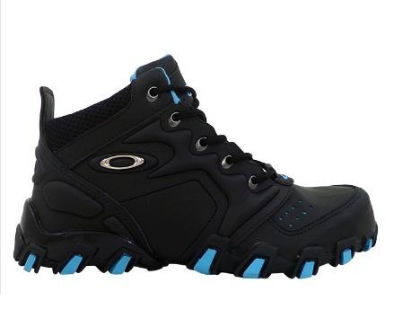 ff092484153ef Tênis Oakley Teeth Anchor Cano Alto Preto E Azul   Promoção - R  119 ...