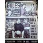 Revista Goles.roma,gatti,marzolini. 1965