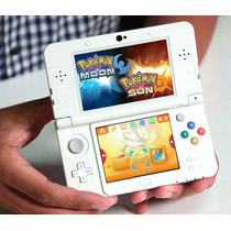 New 3ds + Pokemon Sun And Moon E Mais 48 Jogos Pokemon