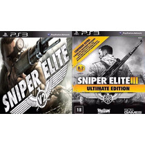 Sniper Elite V2 + 3 Ultimate Edition Jogo Psn Ps3