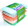 Esponjas X5 Multiusos Lavar Platos Cocina Limpieza Baños