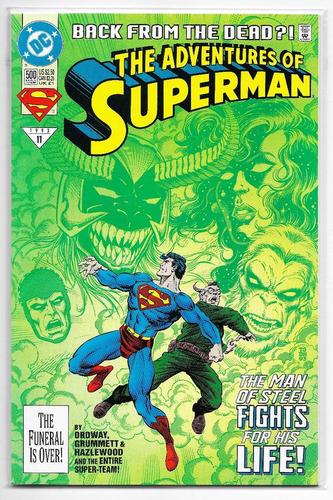 5ea8c0c56aa3 Adventures Of Superman  500 Portada Regular -   150.00 en Mercado Libre