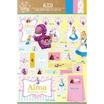 Kit Imprimible Personalizado Alicia Deco Y Candy Bar !