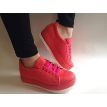 Zapatillas Sneakers Plataforma Mujer Precios De Fabrica !!!!
