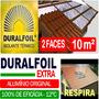 Manta Termica Subcobertura Telhado Duralfoil 2 Faces 10 M²