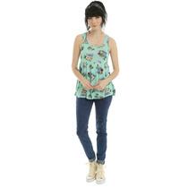 Lilo & Stitch Exclusiva Blusa Top Floral Talla Chica Disney