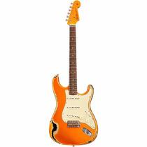 Fender C. Shop 1962 Stratocaster Heavy Relic Rw Fd Cdt/blk