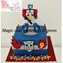 Combo Promocion Torta Transformers + 15 Cupcakes A S/ 160