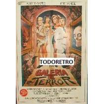 Afiche Galeria Del Terror Alberto Olmedo Jorge Porcel 1987