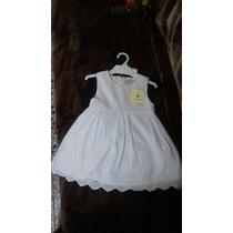Vestido Nena Bautismo Primer Añito Paula Cahen D