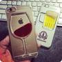 Carcasa Tapa Vino-cerveza For Iphone 6 Y 6s. Exclusivo