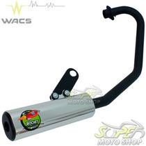 Escape Ponteira Wacs Rocket Cg 150 Fan Titan Esdi 09/13 Prat
