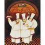 Placa Decorativa P/ Cozinha Lanchonete Cafeteria Restaurante