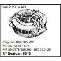 Plato De Embreagem Massey Ferguson Mf-85 Mf-85x 275 290