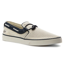 Zapatillas Panchas Lacoste Blanco Gazon Deck 216 Originales