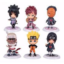 Action Figure Naruto Shippuden - 6 Peças Colecionáveis