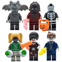 Monster Fighter Lobo Porrista Zombi Compatible Con Lego