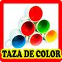 Taza Fondo De Color Ceramica 11 Oz Para Sublimar Color Make